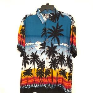 Kennington L.T.D. California Aloha Men's Shirt L
